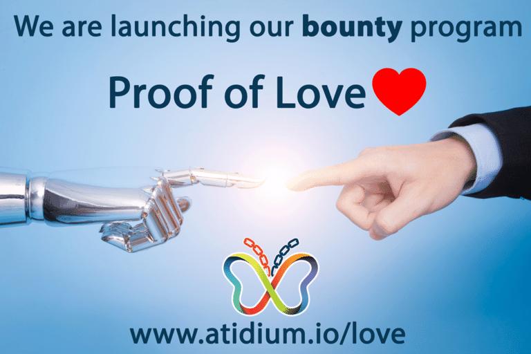 Atidium Proof of Love