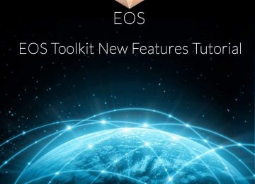 EOS Toolkit New Features Tutorial